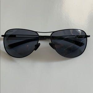Columbia Men's Black Aviator sunglasses